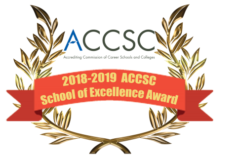CCNN has been awarded the 2018-2019 School of Excellence Award from ACCSC.